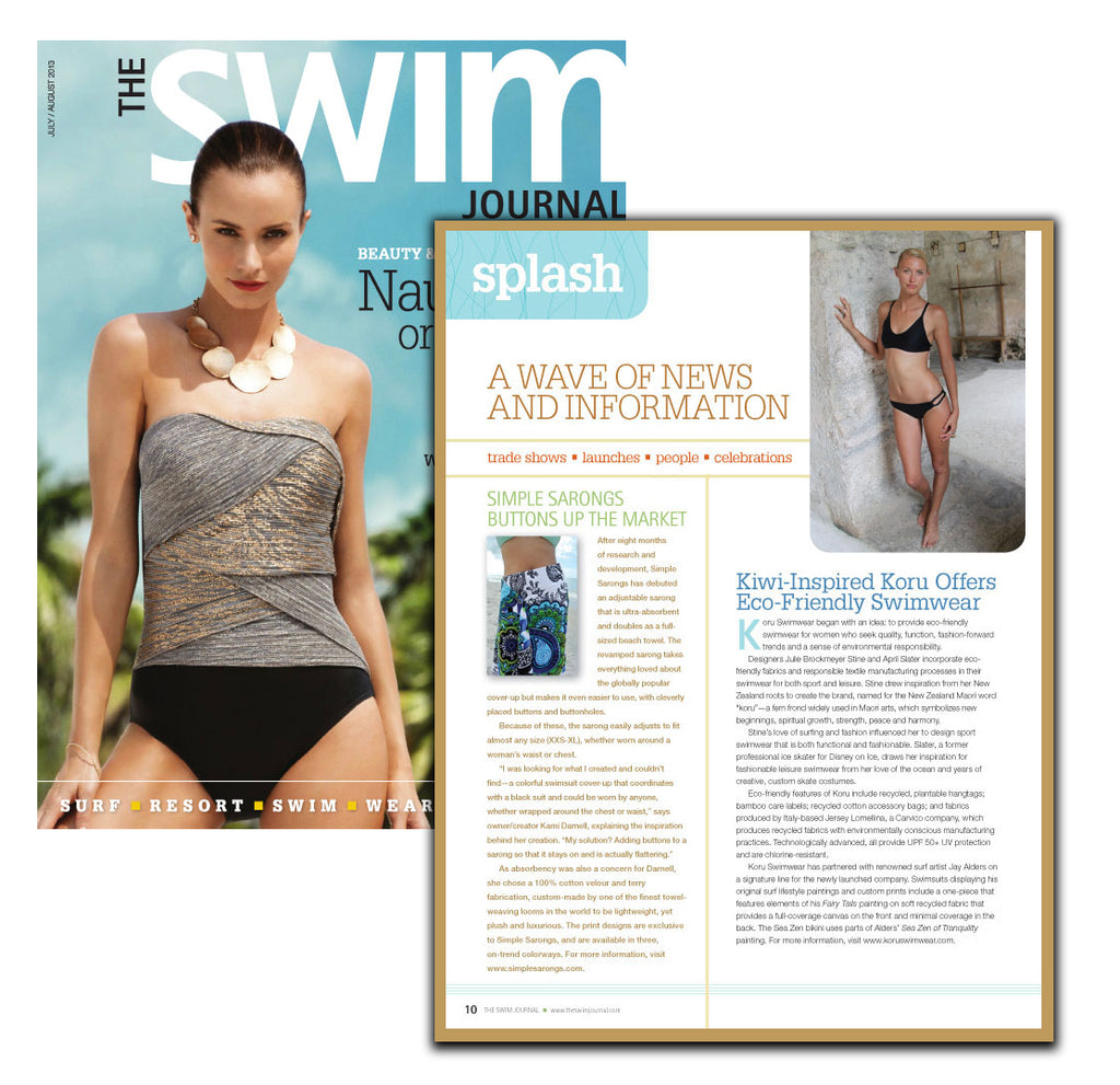 The Swim Journal July 2013 Article