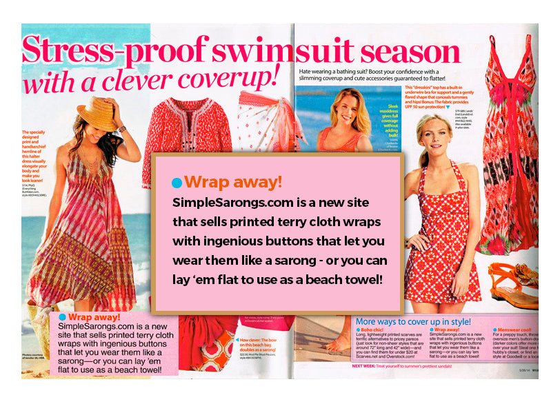 Woman's World May 2014 Article