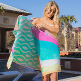 Sea Breeze Waves - PLUS One Size