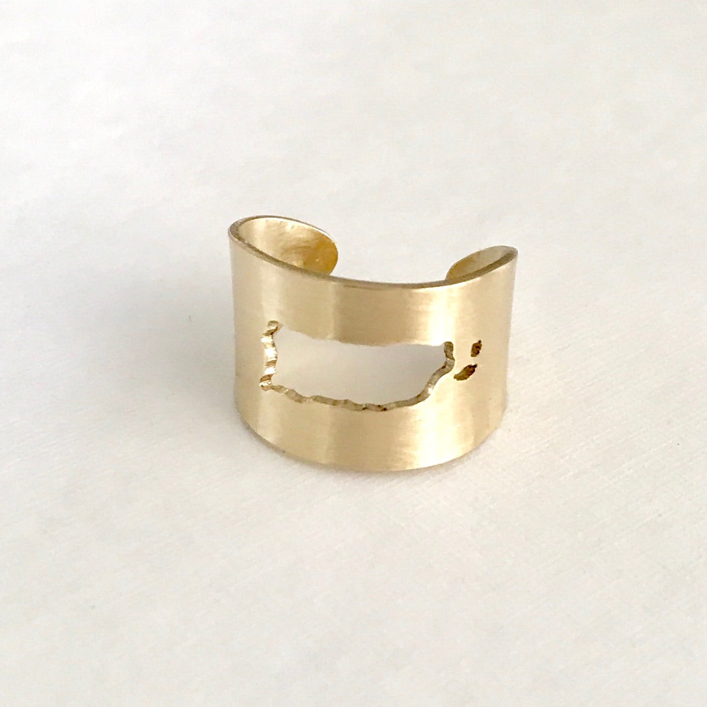 Puerto Rico adjustable ring