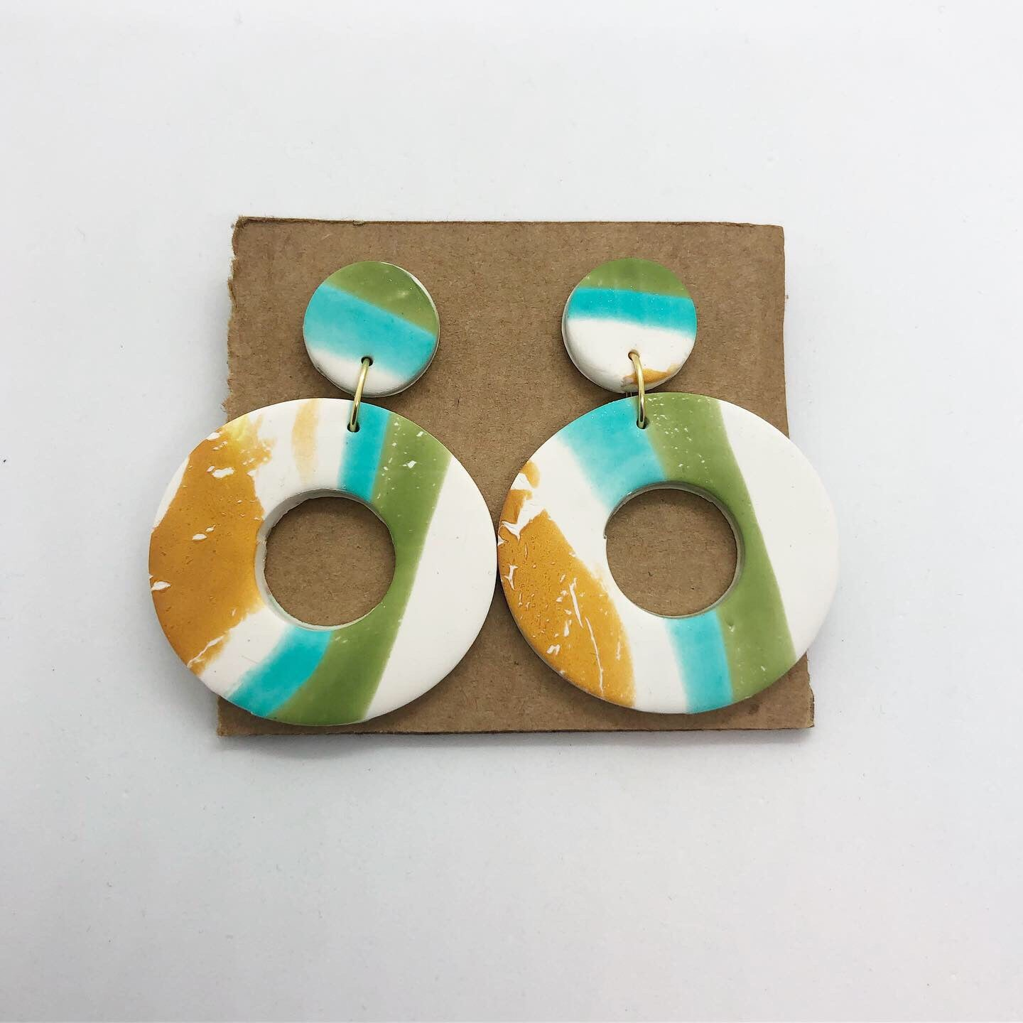 Circle earrings 2