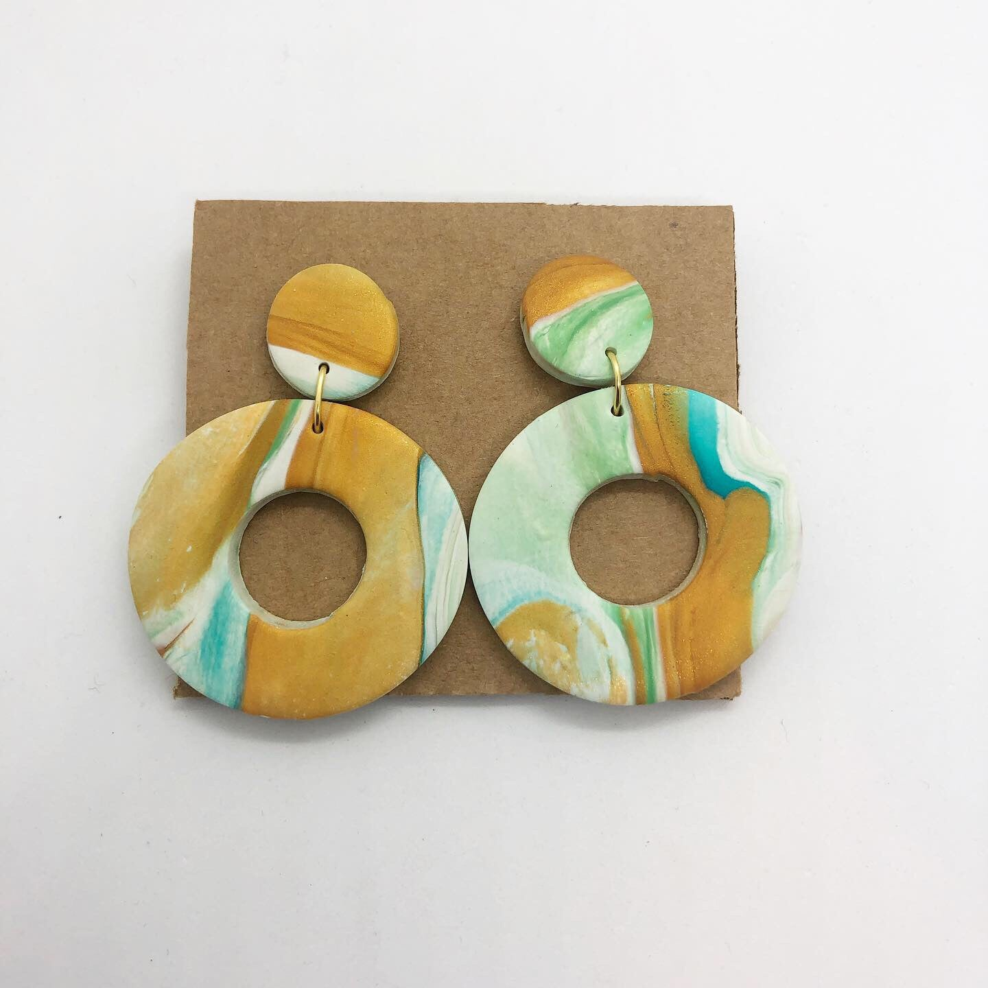 Circle earrings 3