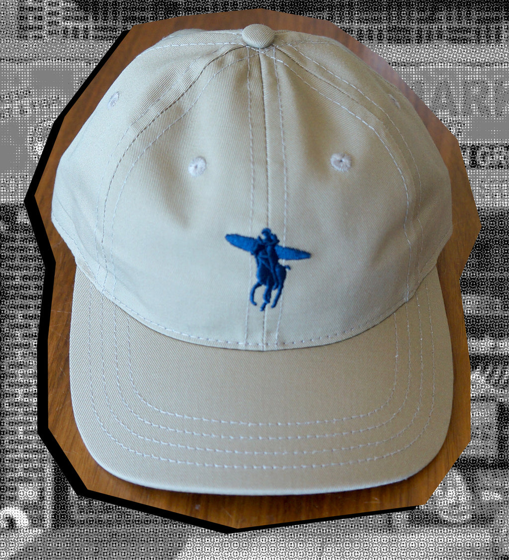 Ralph Don't Surf Hat (Blue and Creme)