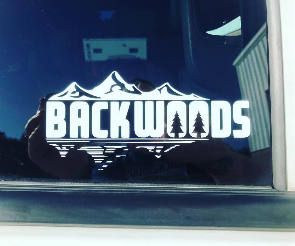 Backwoods Cut Vinyl Decal