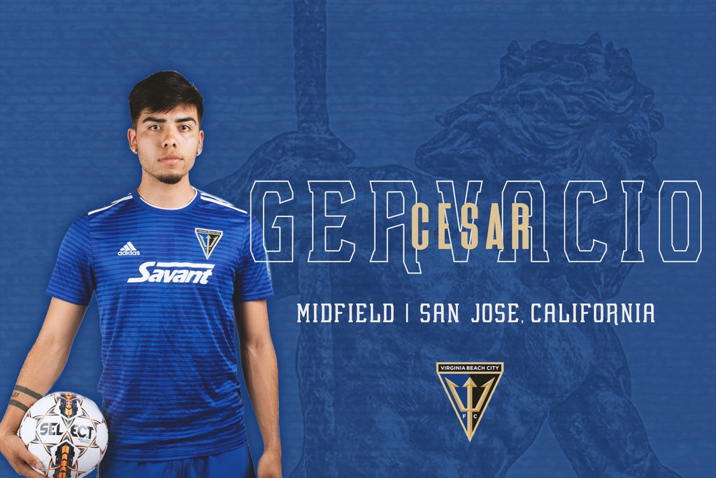 Cesar Gervacio Bringing World-Class Experience to Virginia Beach City FC Lineup