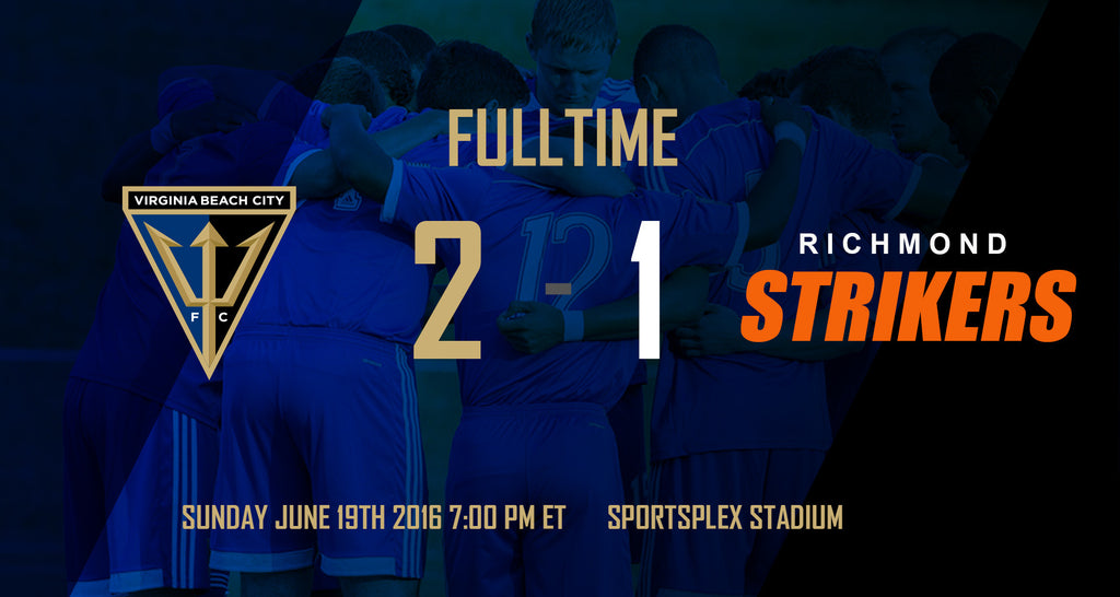 VB City FC Grab Season Sweep Of Richmond Strikers With 2-1 Win