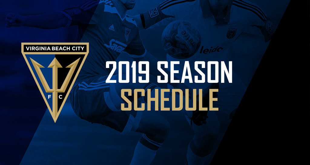 Virginia Beach City FC Announces 2019 Regular Season Schedule