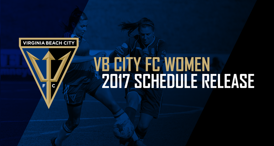 VB City FC Women Announce 2017 WPSL Regular Season Schedule