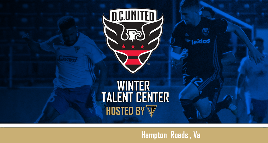 D.C. United Winter Talent Center Dates Released - Hosted by Virginia Beach City FC
