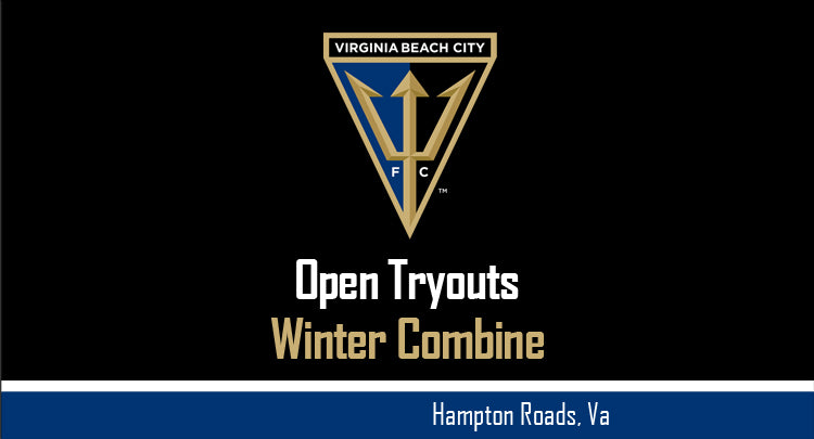 Virginia Beach City FC to Hold Winter Combine - Open Tryouts Ahead of the 2018 NPSL and WPSL Seasons