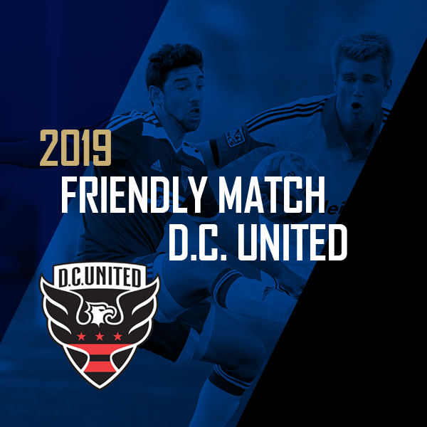 2019 Friendly Match vs D.C. United U23