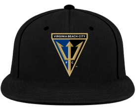 Virginia Beach City FC Snapback - Black