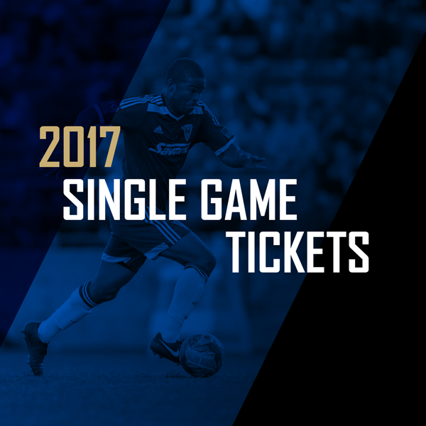 2017 Single Game Tickets