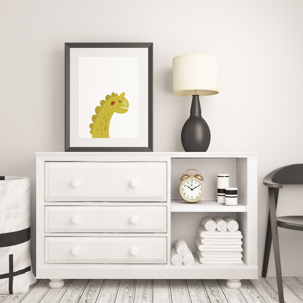 3 Piece Dinosaur Wall Art Printable - Blu Nest Bloom