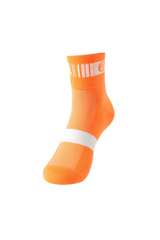 Monton Neon Orange Cycling Socks - Cycling Savings
