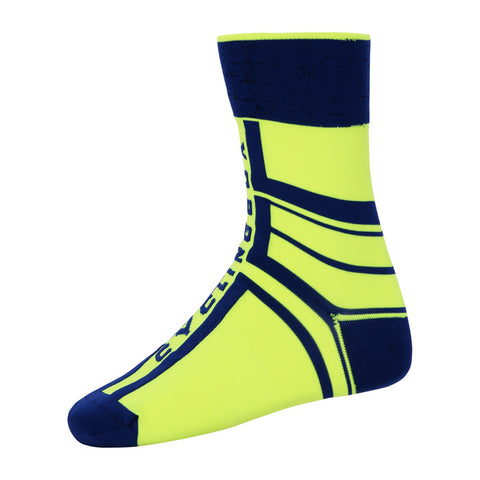 Cycling Box Protector Fluorescent Green Socks - Cycling Savings
