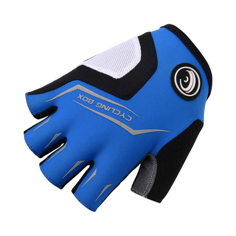 Cycling Box Minoans Gloves Blue - Cycling Savings