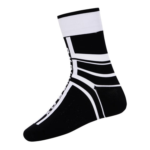 Cycling Box Protector Black White Socks - Cycling Savings