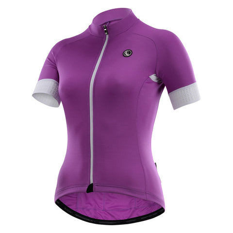 Cycling Box Claire Purple Ladies Jersey - Cycling Savings