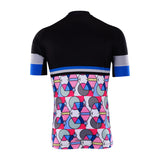 Cycling Box Colour Geometry Jersey - Cycling Savings