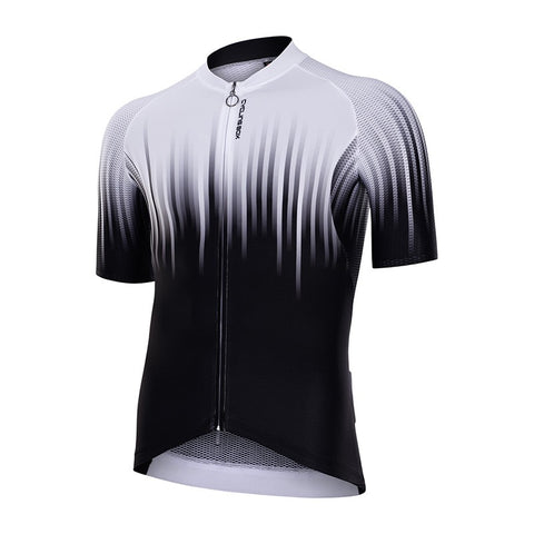 Cycling Box Pro Lite SS Jersey Black and White - Cycling Savings