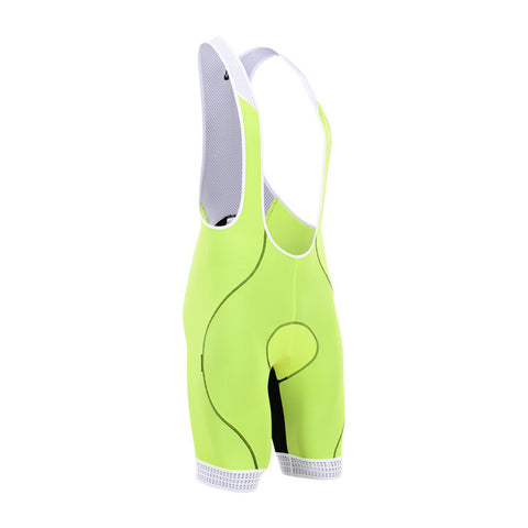 Cycling Box Astra Fluor Yellow Bib Shorts - Cycling Savings