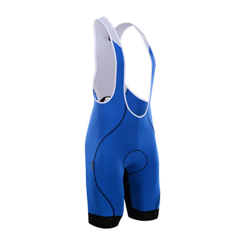 Cycling Box Astra Blue Bib Shorts - Cycling Savings