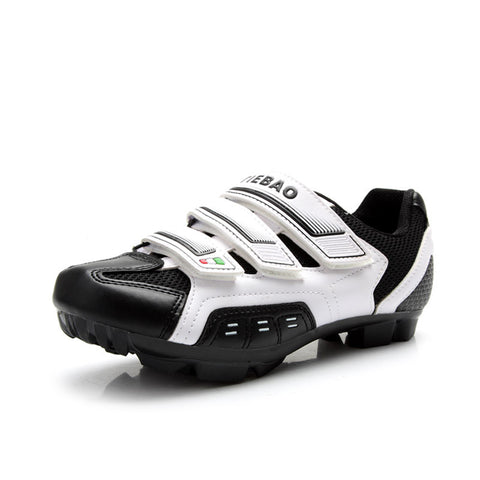 Tiebao Road Cycling Shoes Black and White - Cycling Savings