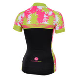 Cycling Box Abstract Ladies Jersey - Cycling Savings