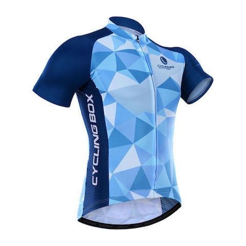 Cycling Box Blue Starry Sky Jersey - Cycling Savings