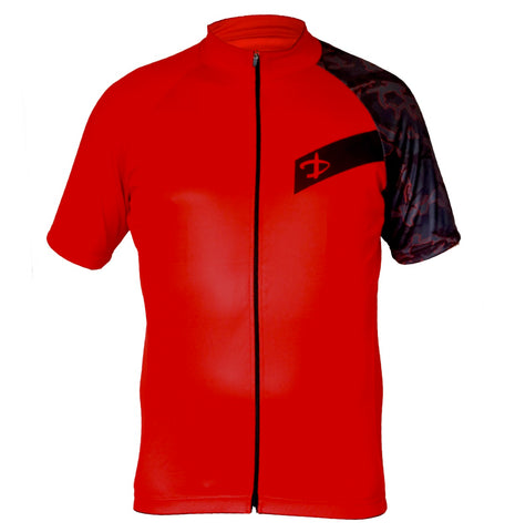 Deko Camo Red Jersey - Cycling Savings