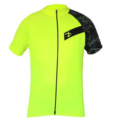 Deko Camo Yellow Jersey - Cycling Savings