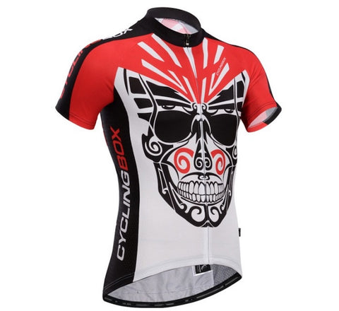 Cycling Box Skull Knight Jersey - Cycling Savings