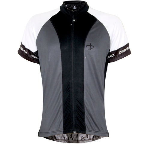 Deko Incas Jersey Grey and Black - Cycling Savings