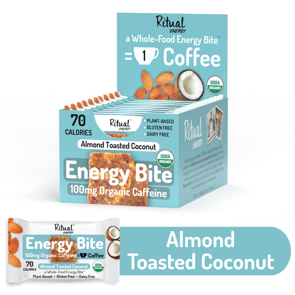 Almond Toasted Coconut Energy - 10 Pack