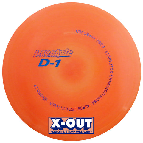 X-OUT Prostyle D-1 #1 Driver Fairway Driver