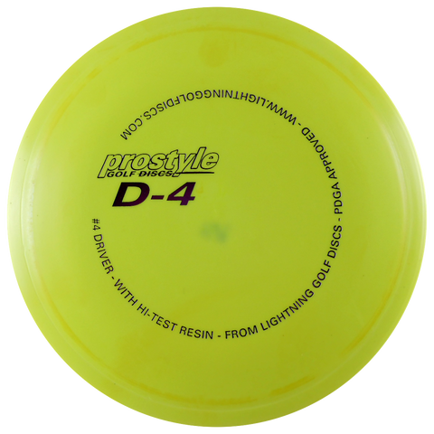 Prostyle D-4 #4 Driver Fairway Driver