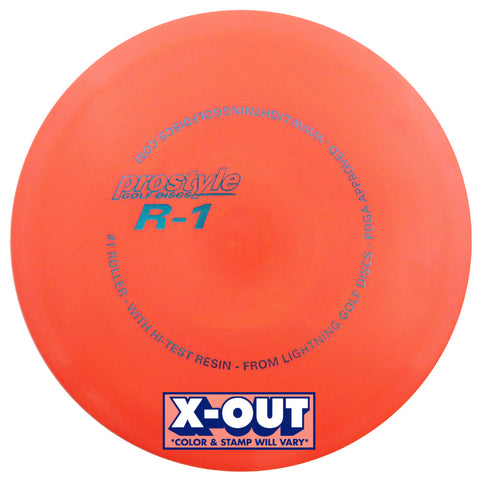 X-OUT Prostyle R-1 #1 Roller Fairway Driver