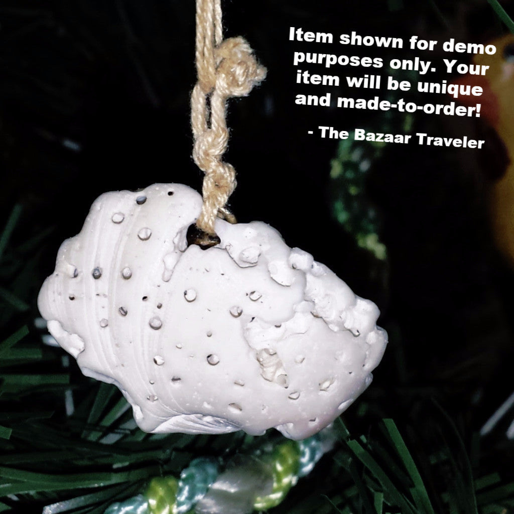 She Sells Sea Shell Ornaments On the Interwebs