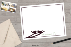 lovebirds stationery