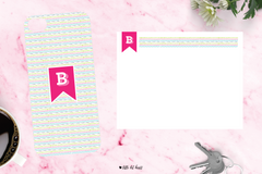 bright banner - pink collection