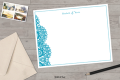 lace edge stationery