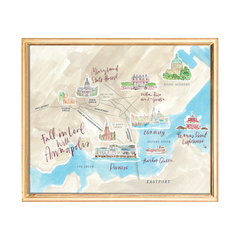 fall in love with annapolis art print