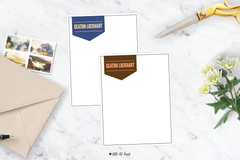 bold banner stationery
