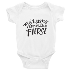 Generous, True & Also Fierce Kids/Baby Shirt