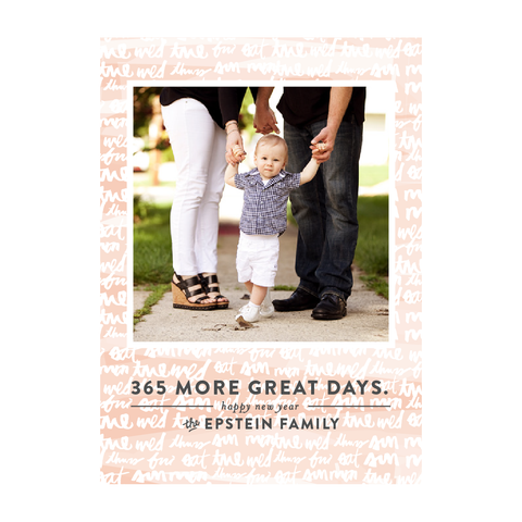 365 Great Days Holiday Photo Card