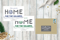 Maryland Home For The Holidays Holiday Card