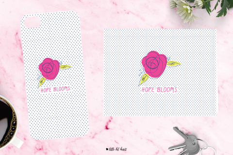 hope blooms - pink collection