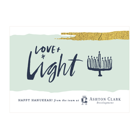 Love & Light Holiday Card