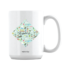 Maryland Illustrated Mug/Tumbler